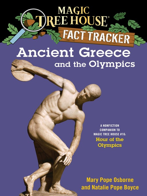 Title details for Ancient Greece and the Olympics by Mary Pope Osborne - Wait list